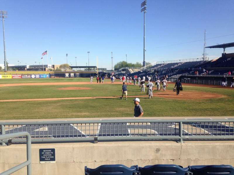 Seating view for Peoria Sports Complex Section 107 Row K Seat 12