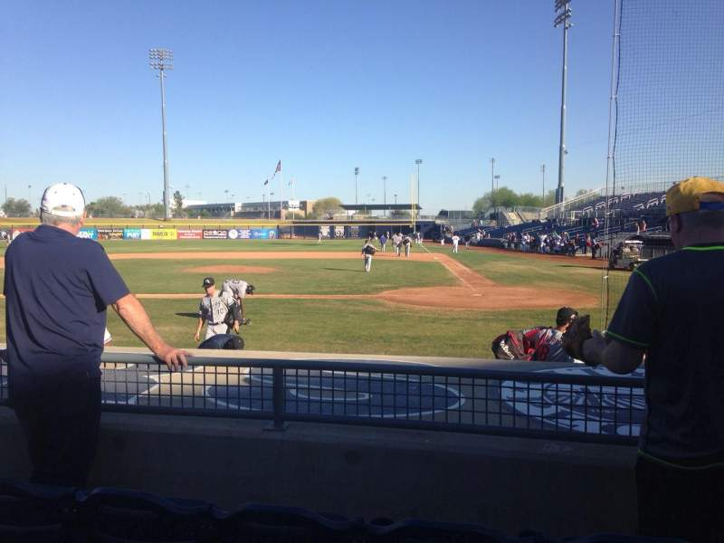 Seating view for Peoria Sports Complex Section 105 Row K Seat 5
