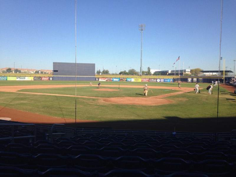 Seating view for Peoria Sports Complex Section 101 Row K Seat 7