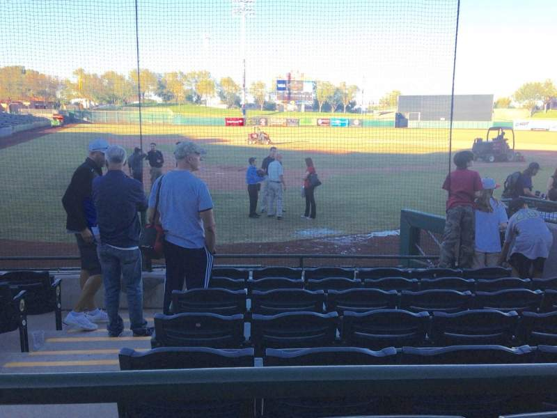 Seating view for Scottsdale Stadium Section 106 Row WC Seat 3