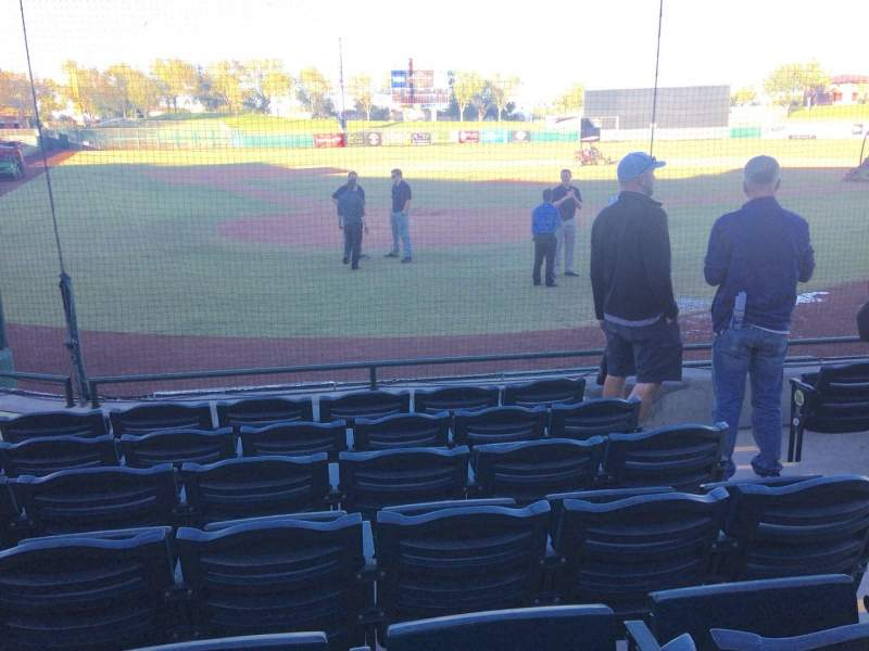 Seating view for Scottsdale Stadium Section 104 Row WC Seat 3
