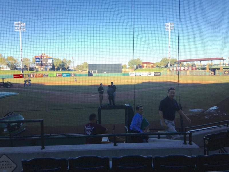 Seating view for Scottsdale Stadium Section 102 Row WC Seat 3