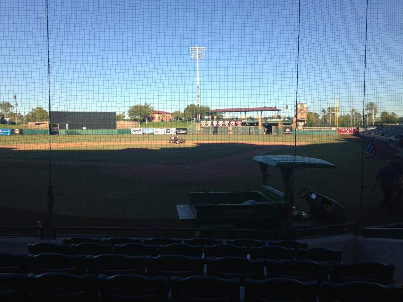 Seating view for Scottsdale Stadium Section 103 Row WC Seat 3