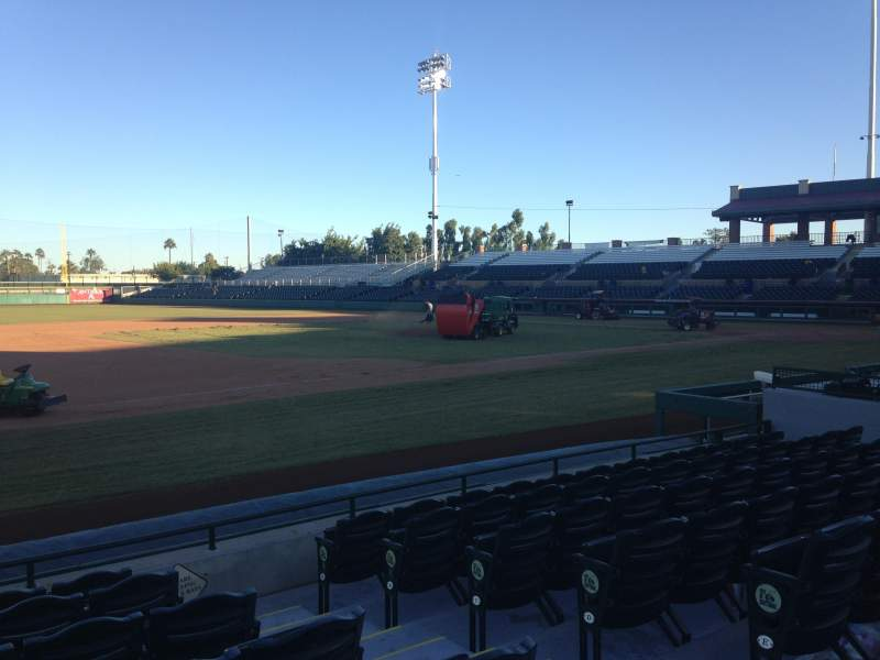 Seating view for Scottsdale Stadium Section 119 Row WC Seat 3