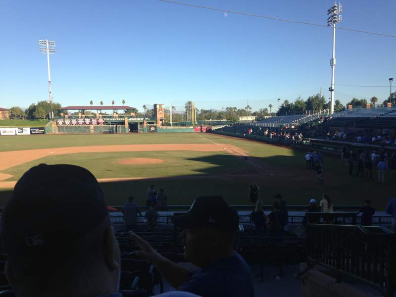 Scottsdale Stadium, section: 309, row: 1, seat: 1