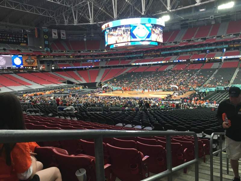 Seating view for State Farm Stadium Section 104 Row 35 Seat 24