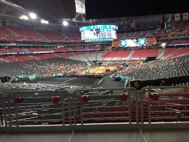 Seating view for State Farm Stadium Section 137 Row WC Seat 19