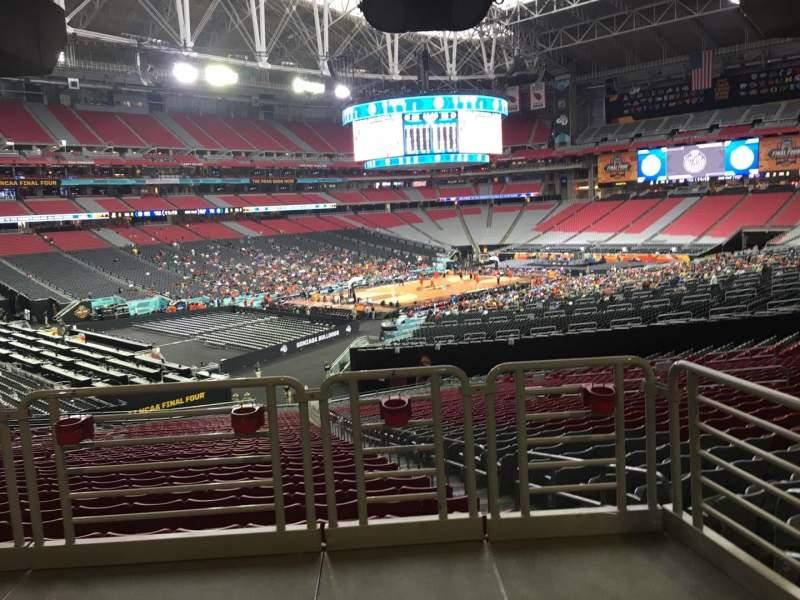 University Of Phoenix Stadium, section: 136, row: WC, seat: 2