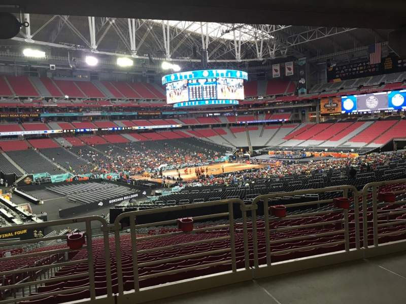 Seating view for State Farm Stadium Section 135 Row WC Seat 13
