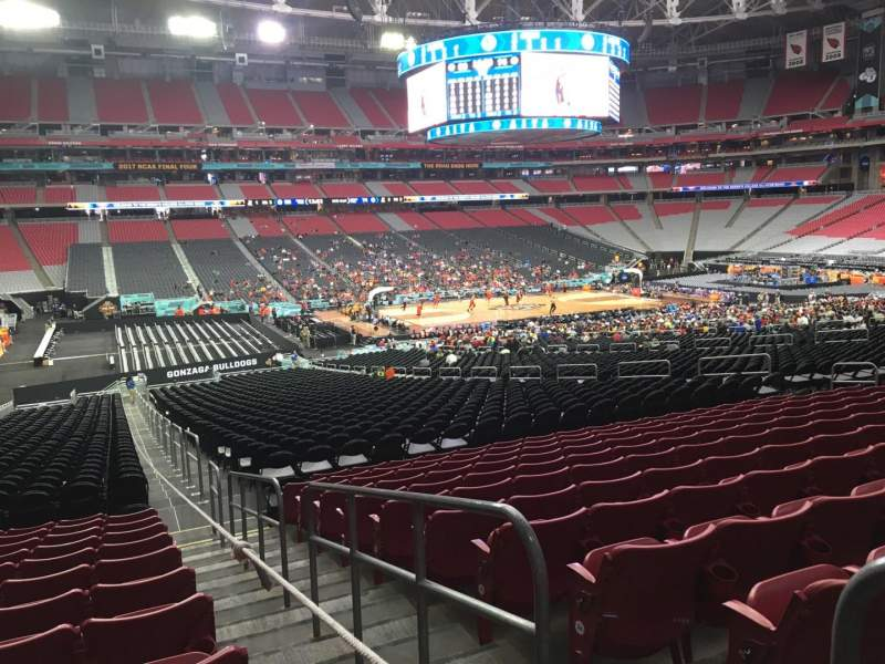 Seating view for State Farm Stadium Section 134 Row 37 Seat 1