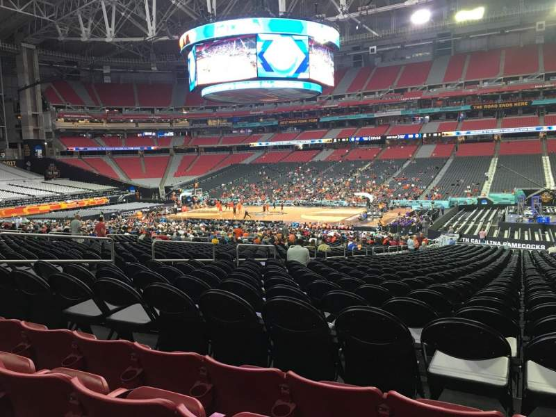 Seating view for State Farm Stadium Section 126 Row 29 Seat 8