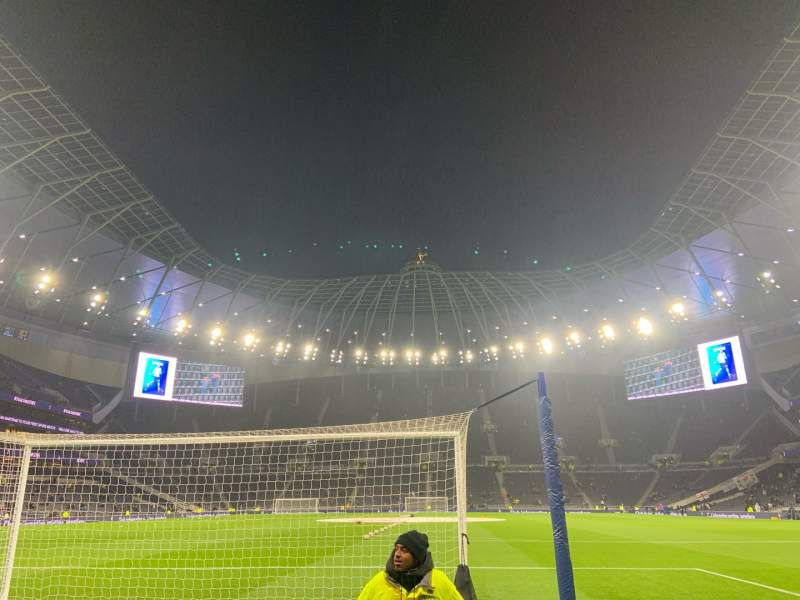 Seating view for Tottenham Hotspur Stadium Section 112 Row 3 Seat 362