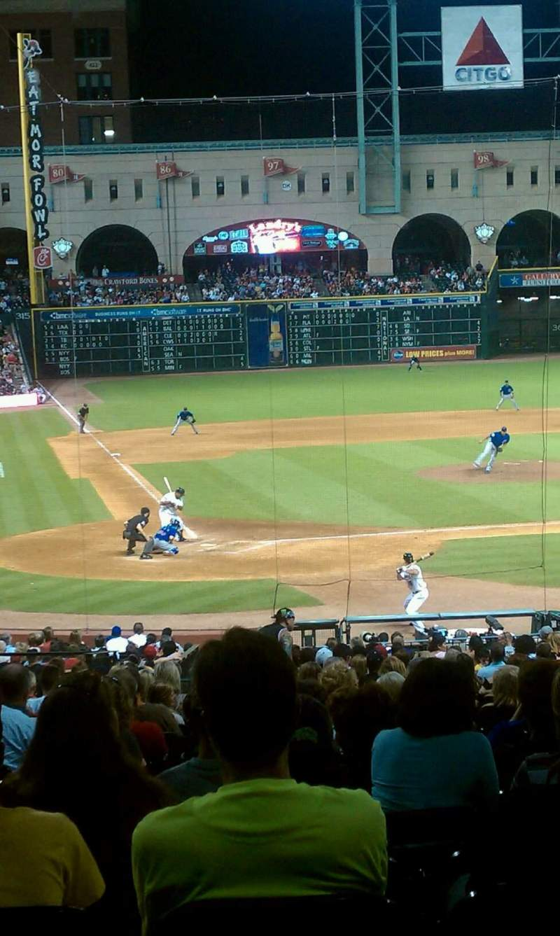 Seating view for Minute Maid Park