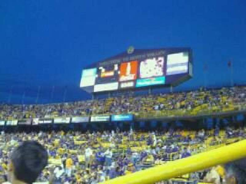 Seating view for Tiger Stadium Section 201