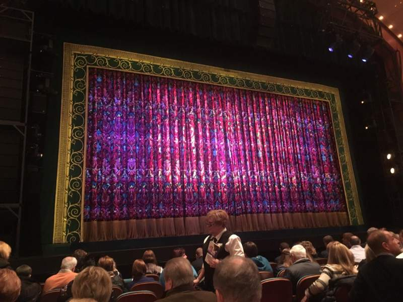 Seating view for Procter And Gamble Hall at the Aronoff Center Section Orchestra L Row D Seat 109