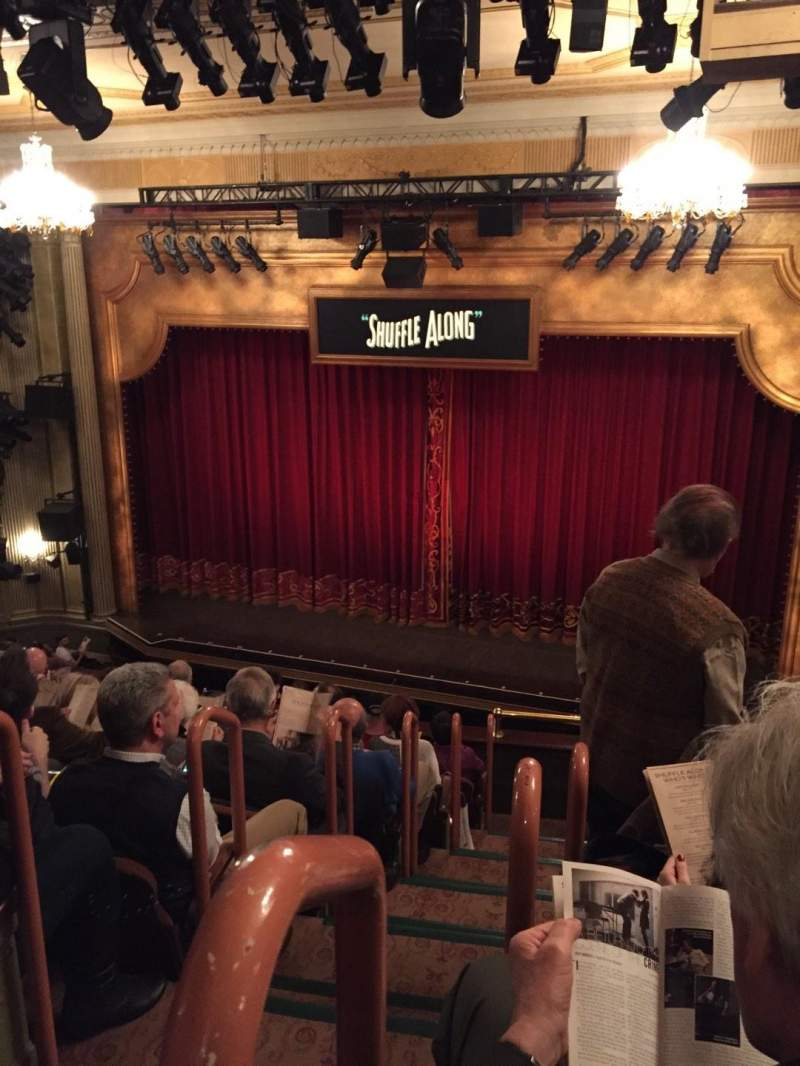 Seating view for Music Box Theatre Section Mezzanine R Row J Seat 2