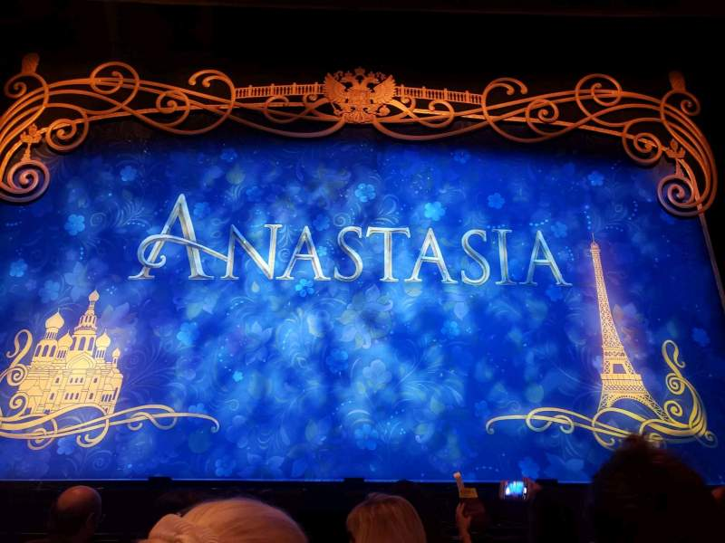 Seating view for Hollywood Pantages Theatre Section Orchestra C Row D Seat 107, 108