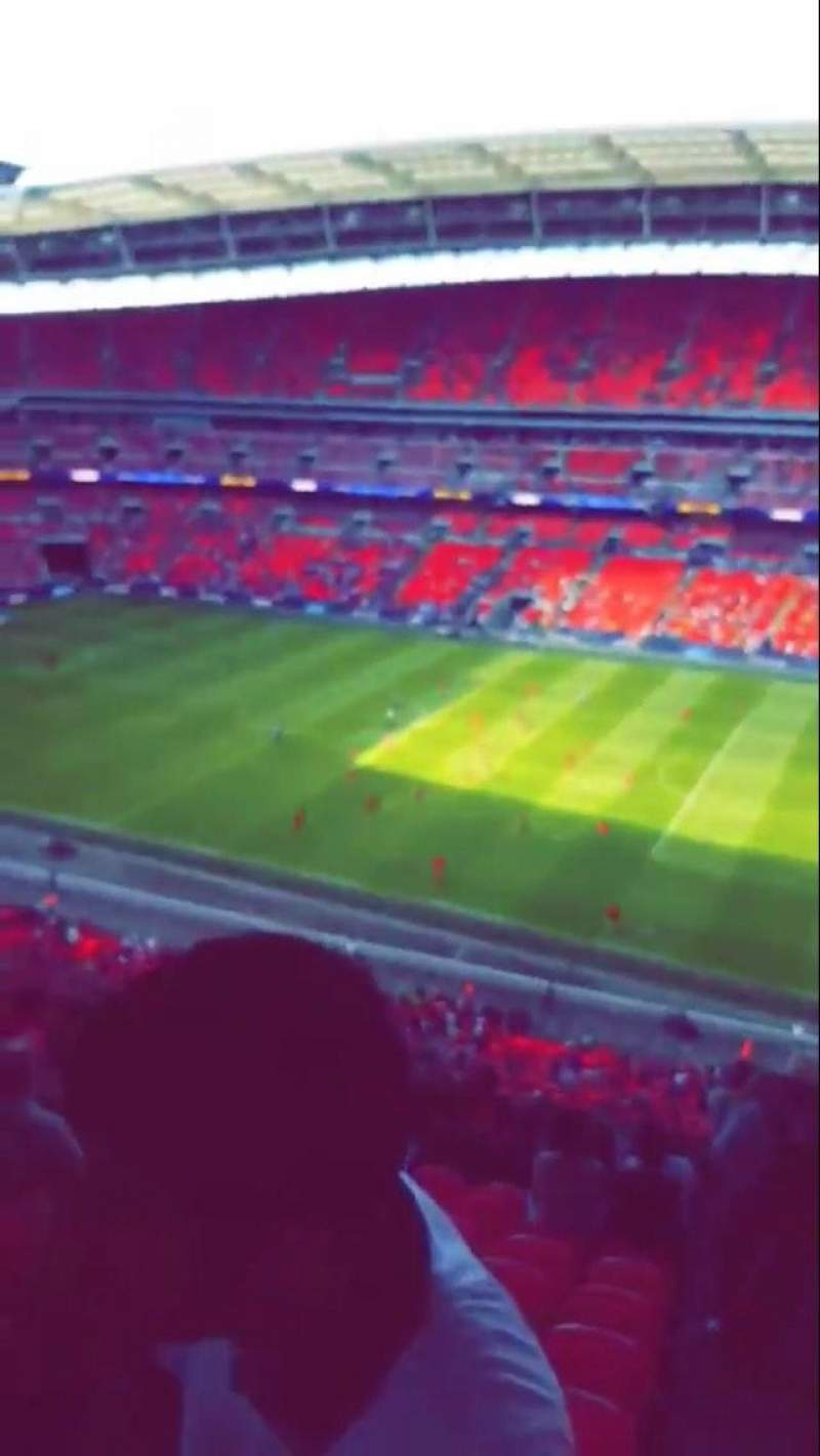 Seating view for Wembley Stadium Section 520