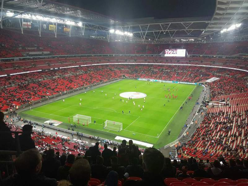 Seating view for Wembley Stadium Section 510 Row 17 Seat 283