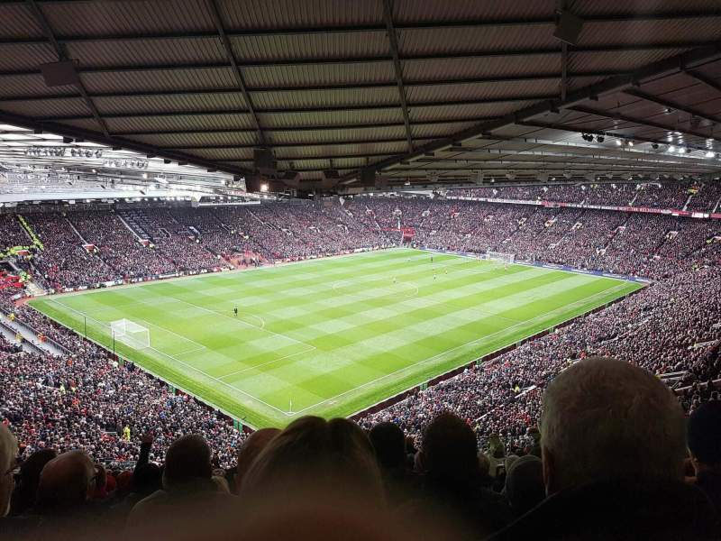 Seating view for Old Trafford Section NE3421 Row 26 Seat 75