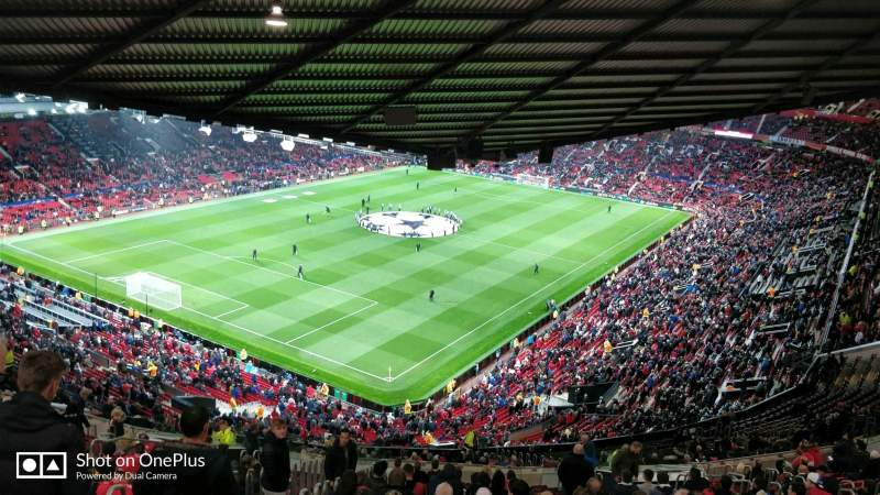 Old Trafford, section: NE3425, row: 25, seat: 114