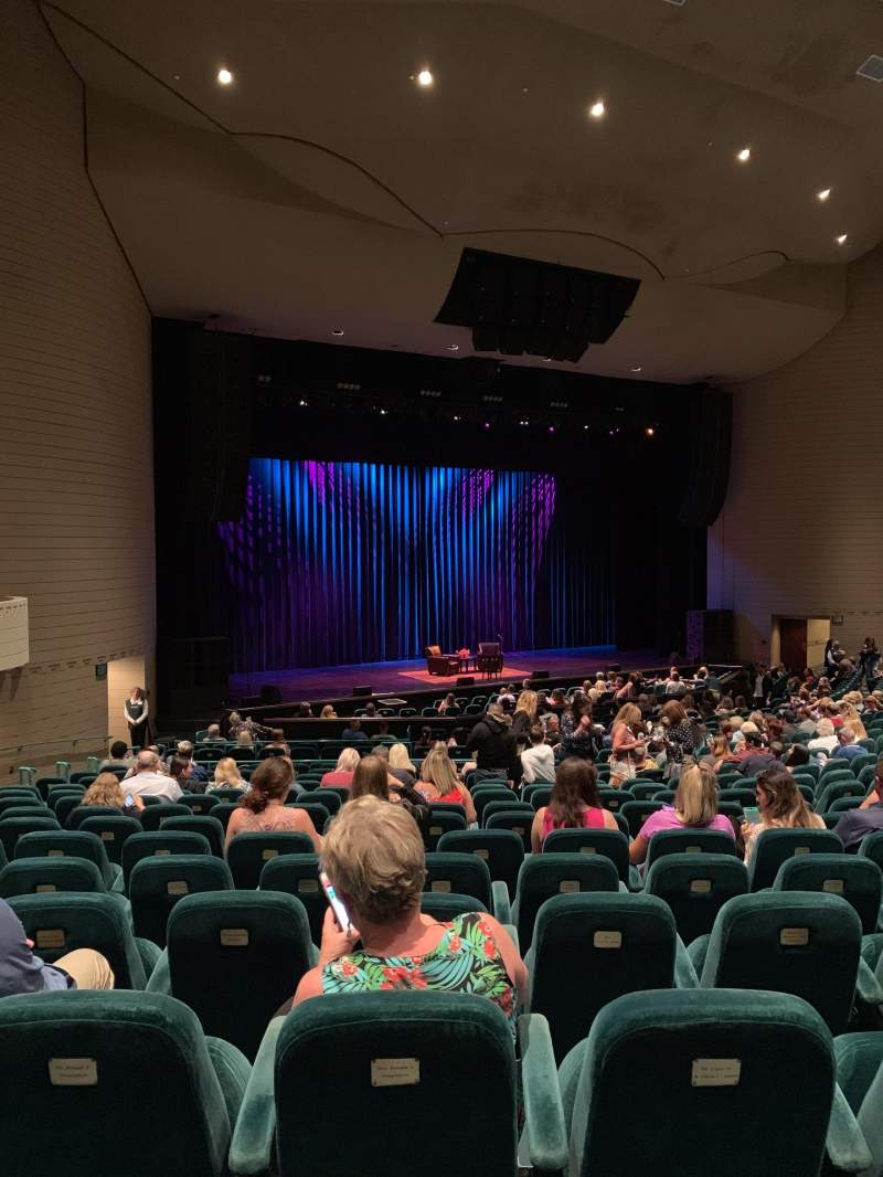Seating view for Ruth Eckerd Hall Section West Portal 7 Row X Seat 68