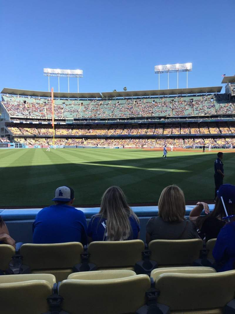Seating view for Dodger Stadium Section 51FD Row C Seat 11