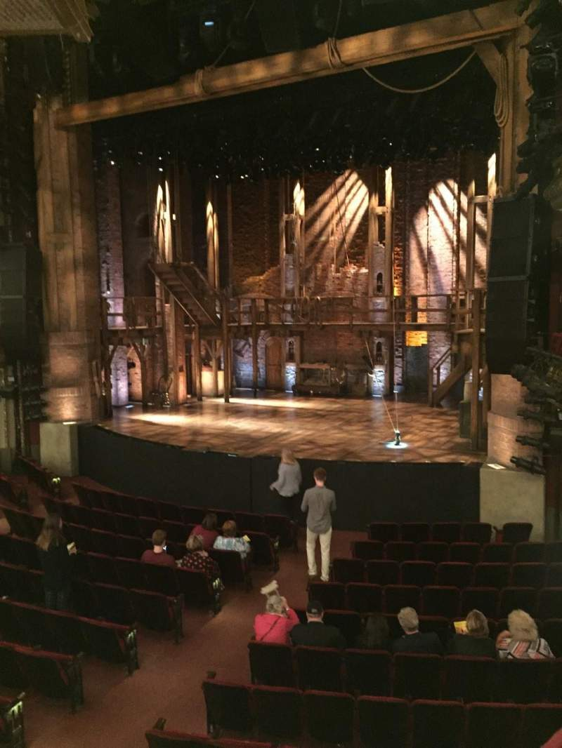 CIBC Theatre, section: Dress Circle R, row: A, seat: 6