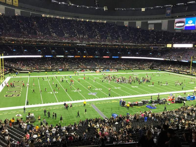 Seating view for Caesars Superdome Section 310 Row 13 Seat 6