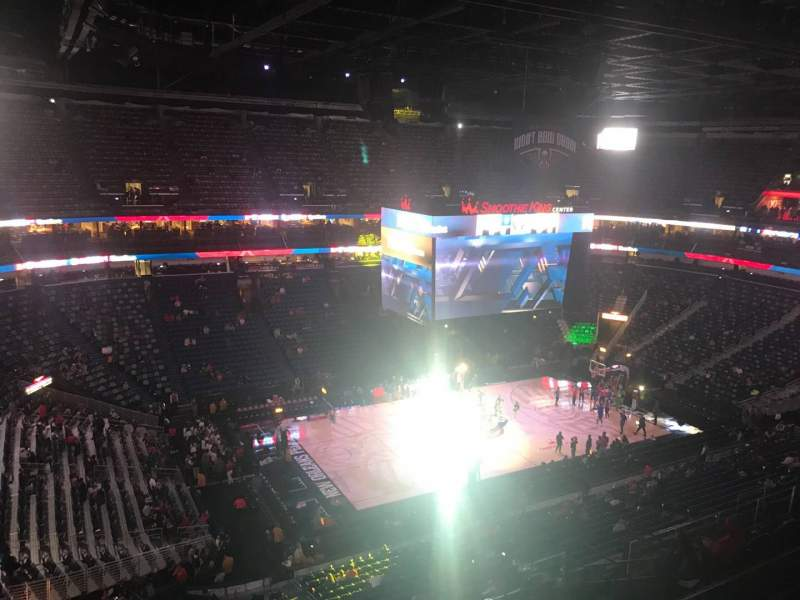 Seating view for Smoothie King Center Section 303 Row 11 Seat 8