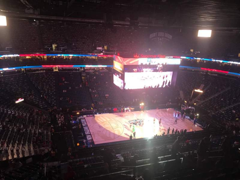Seating view for Smoothie King Center Section 302 Row 13 Seat 14