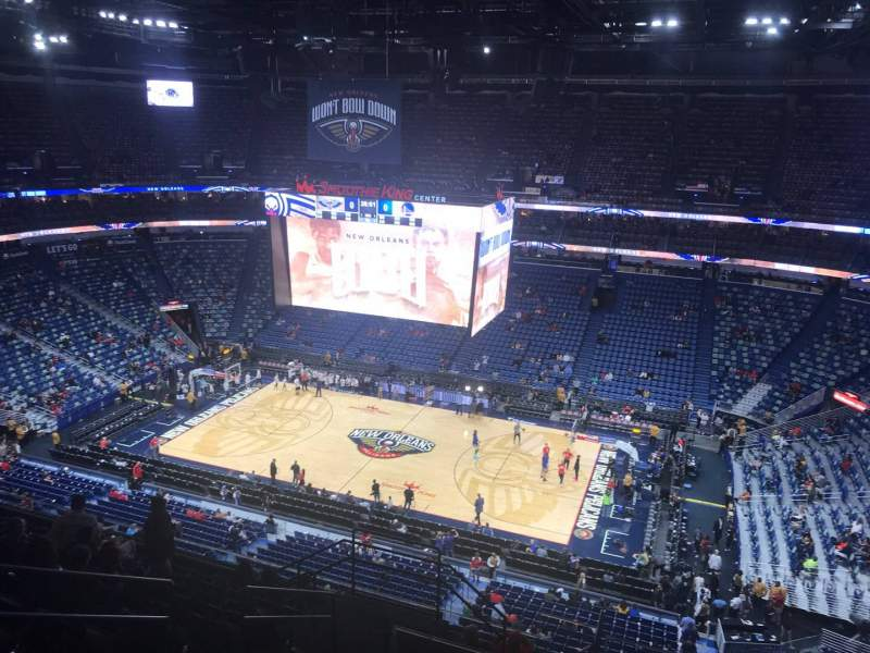 Seating view for Smoothie King Center Section 330 Row 12 Seat 14