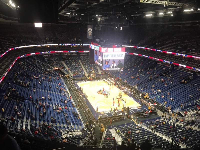 Seating view for Smoothie King Center Section 326 Row 13 Seat 18