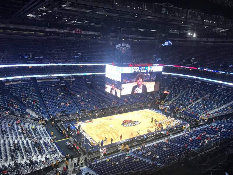 Seating view for Smoothie King Center Section 319 Row 14 Seat 16