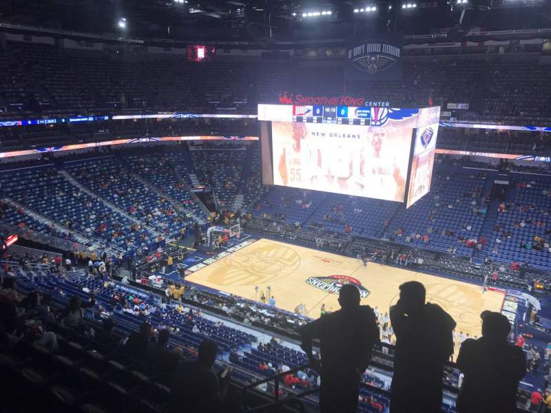 Seating view for Smoothie King Center Section 314 Row 7 Seat 18