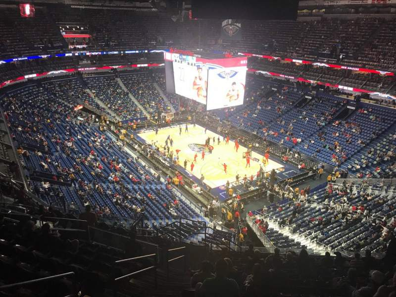 Seating view for Smoothie King Center Section 311 Row 14 Seat 20