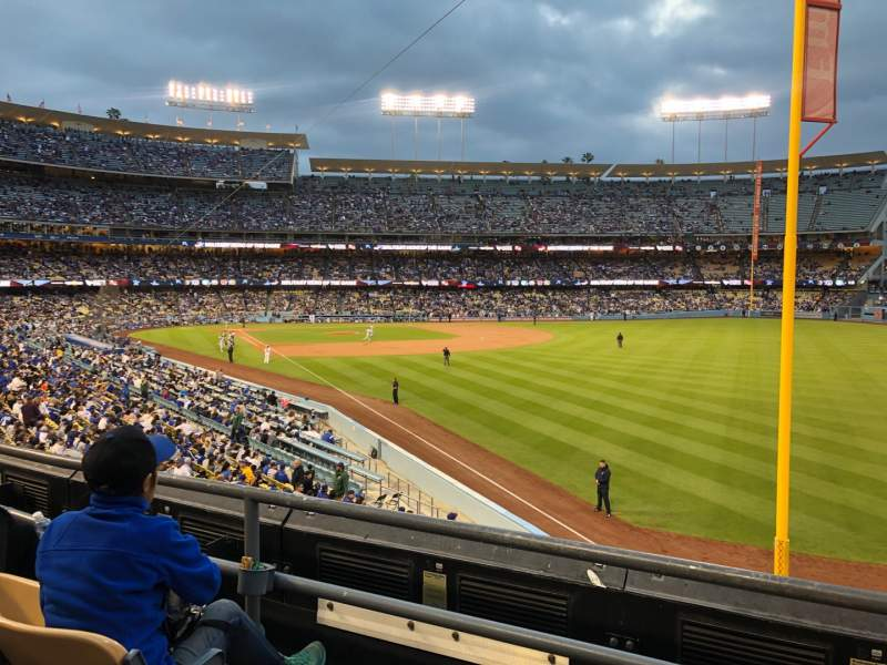 Seating view for Dodger Stadium Section 164LG Row C Seat 1