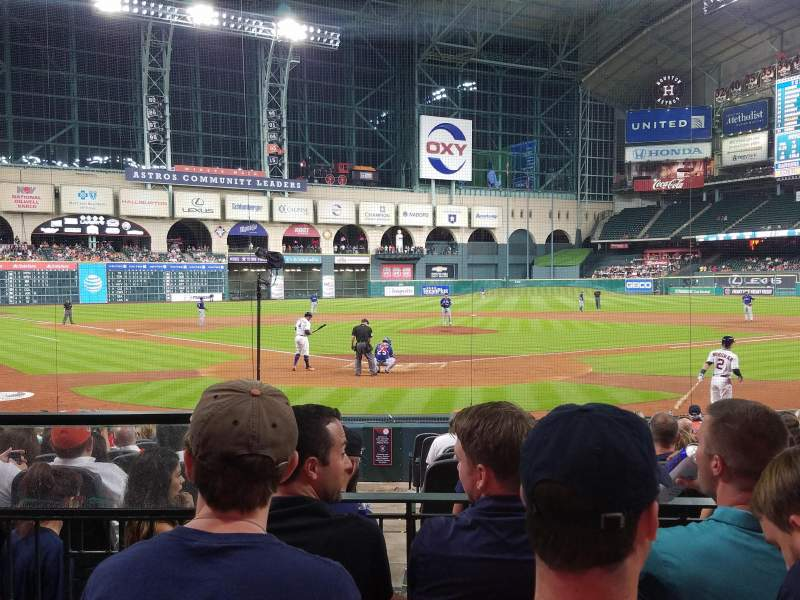 Seating view for Minute Maid Park Section 120 Row 15 Seat 2