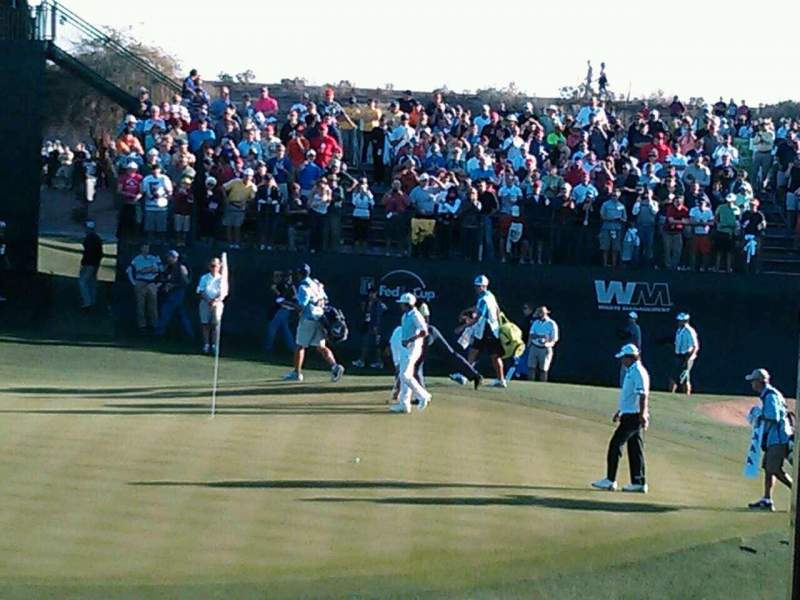 Seating view for TPC of Scottsdale Section 16th Row Skybox