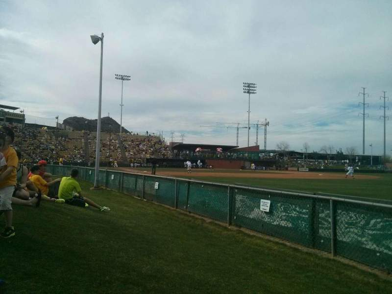 Seating view for Packard Stadium Section lawn