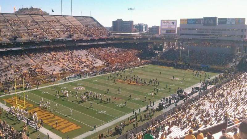 Seating view for Sun Devil Stadium Section 215 Row 18 Seat 14