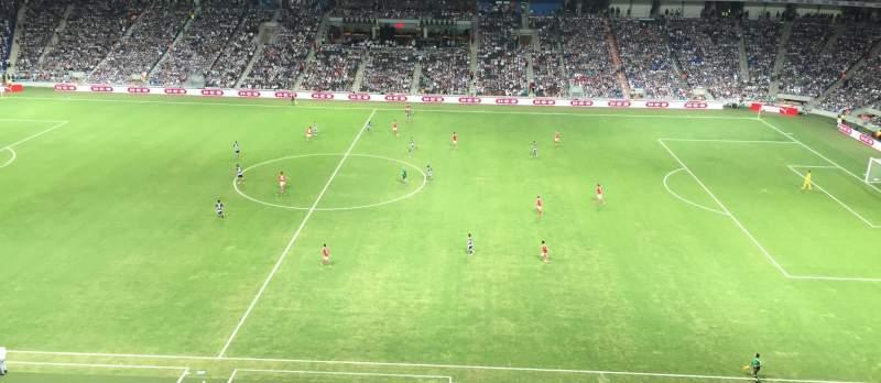 Estadio BBVA Bancomer, section: 208, row: A, seat: 9