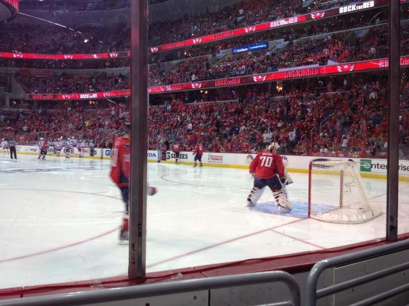 Seating view for Verizon Center Section 104 Row VIP B