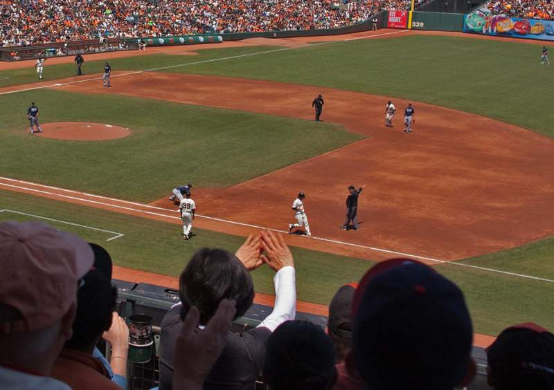 AT&T Park, section: 205, row: E, seat: 6