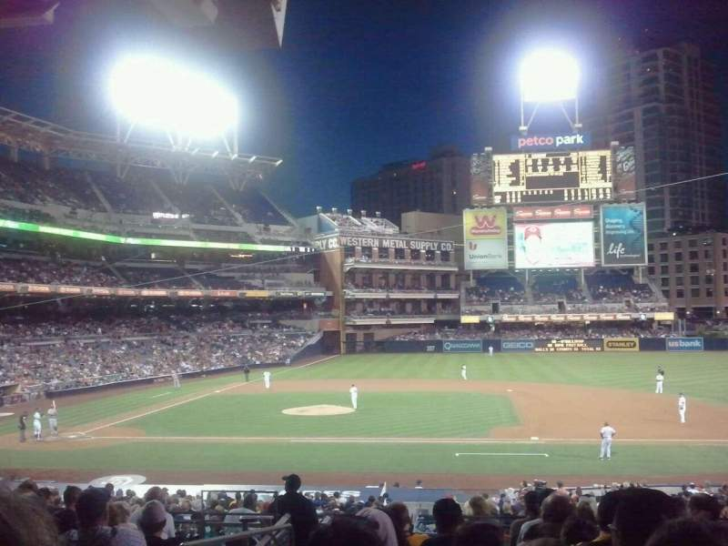 Seating view for PETCO Park Section 109 Row 36 Seat 2