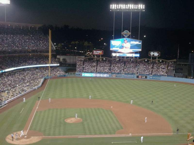Seating view for Dodger Stadium Section 10RS Row N Seat 6