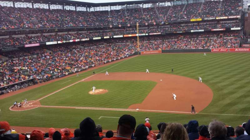 Seating view for Oriole Park at Camden Yards Section 218 Row 9 Seat 9
