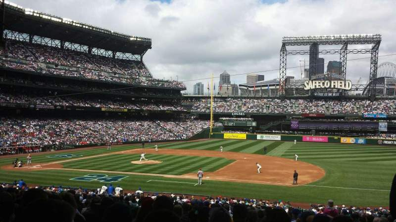 Seating view for Safeco Field Section 120 Row 38 Seat 2