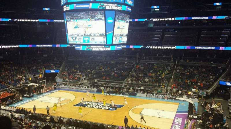 Seating view for Amway Center Section Club B Row 6 Seat 8