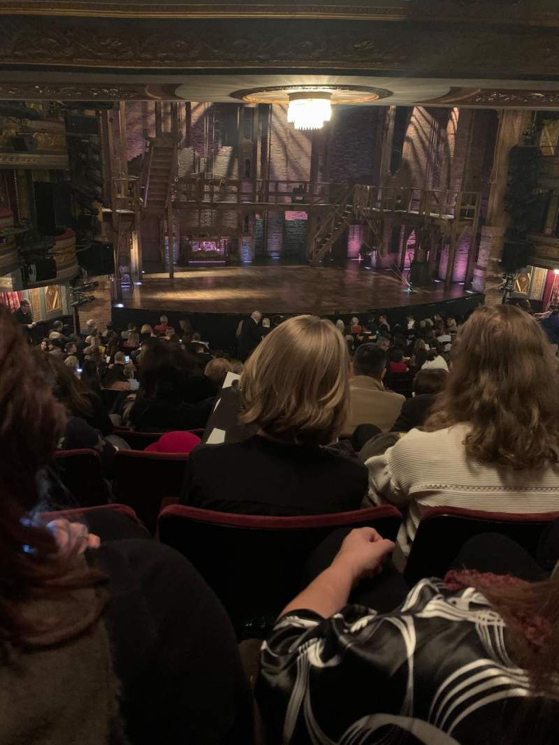 Seating view for Richard Rodgers Theatre Section Orchestra L Row T Seat 13